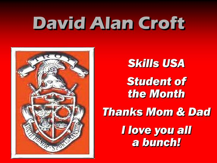 David Alan Croft