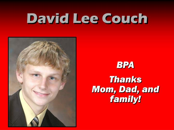 David Lee Couch