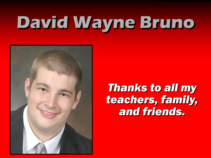 David Wayne Bruno
