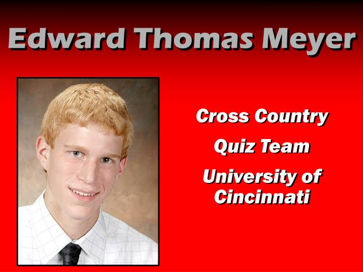 Edward Thomas Meyer