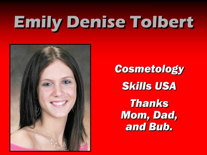 Emily Denise Tolbert