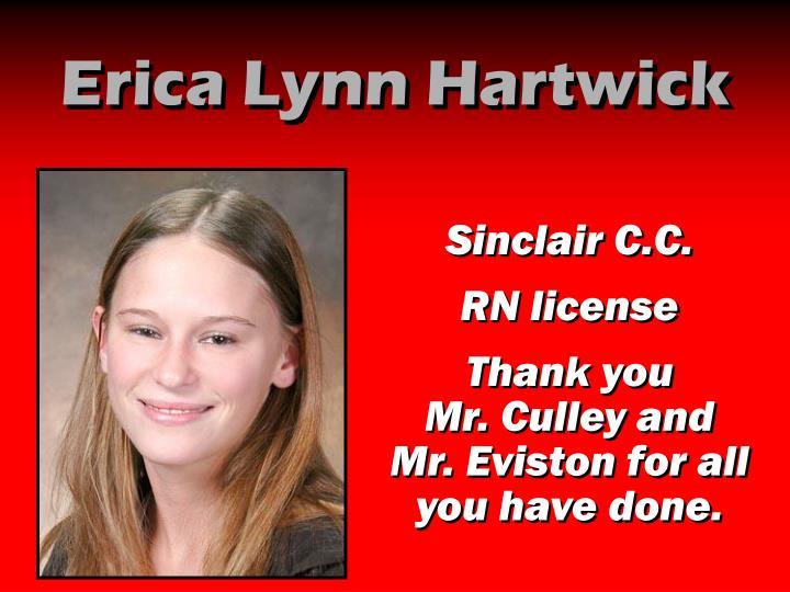 Erica Lynn Hartwick