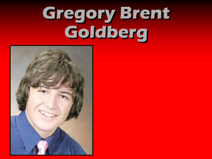 Gregory Brent Goldberg