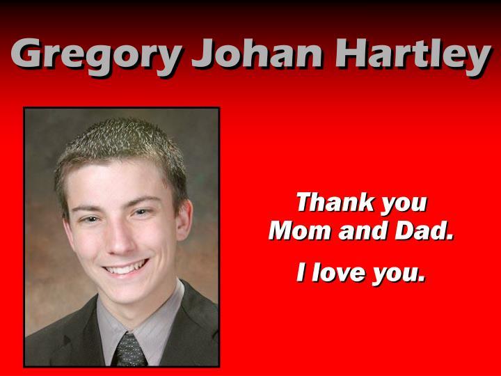 Gregory Johan Hartley