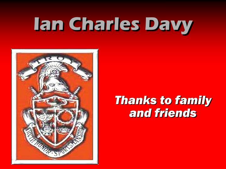 Ian Charles Davy