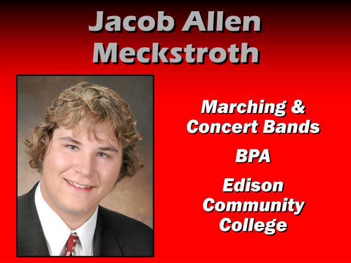 Jacob Allen Meckstroth