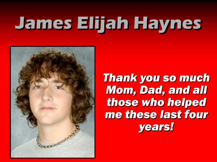 James Elijah Haynes