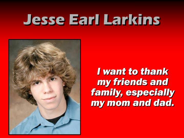 Jesse Earl Larkins