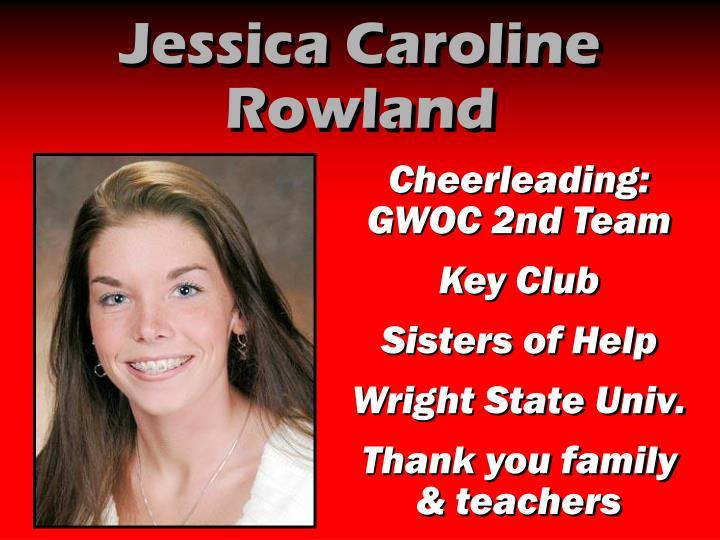 Jessica Caroline Rowland