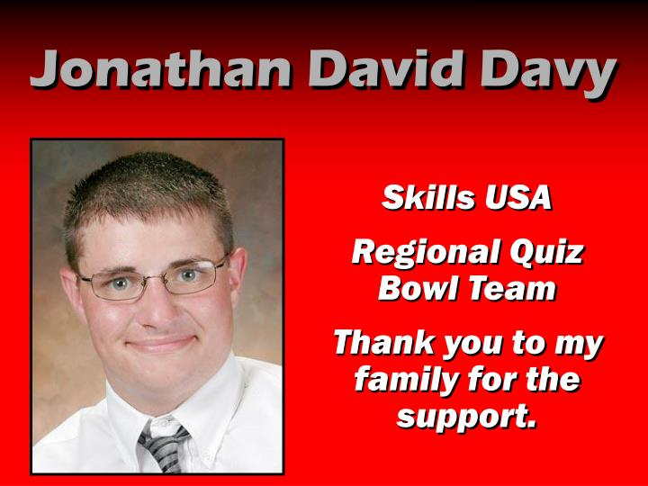 Jonathan David Davy