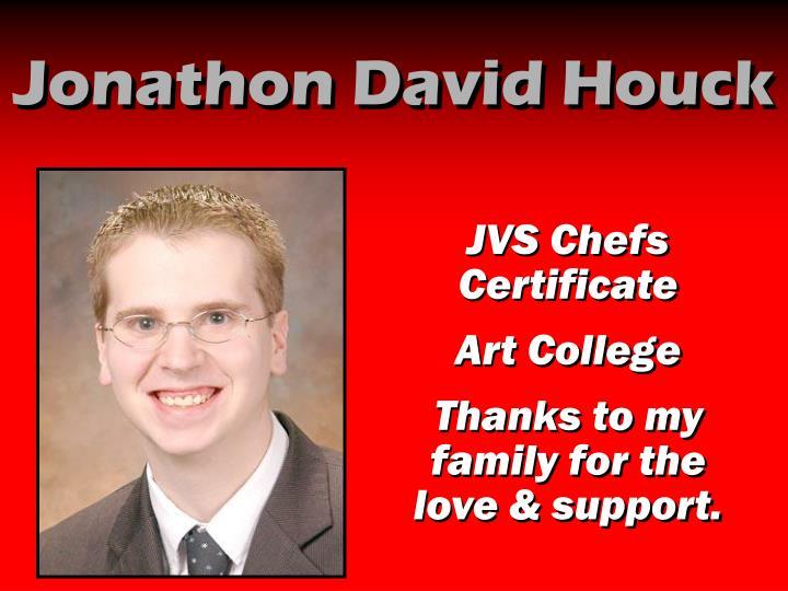 Jonathon David Houck