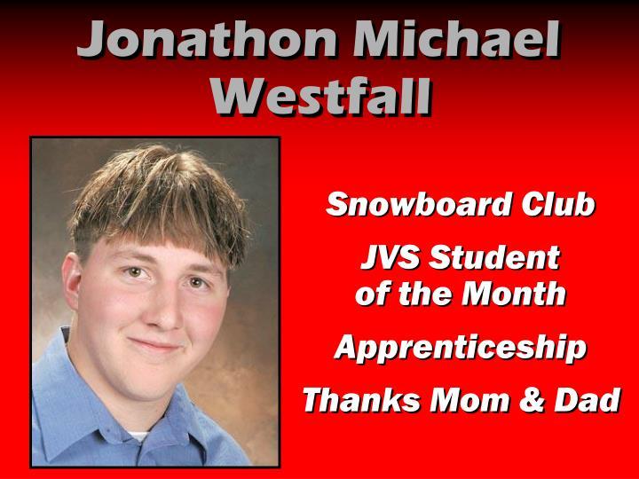 Jonathon Michael Westfall