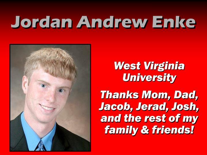 Jordan Andrew Enke