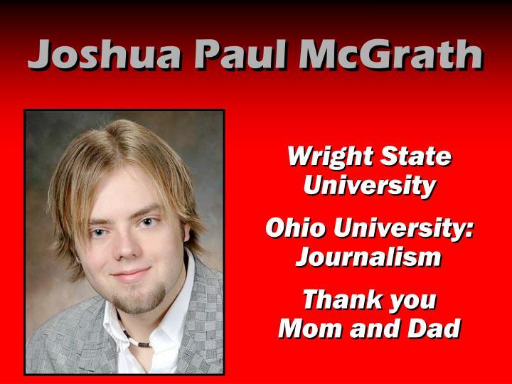 Joshua Paul McGrath