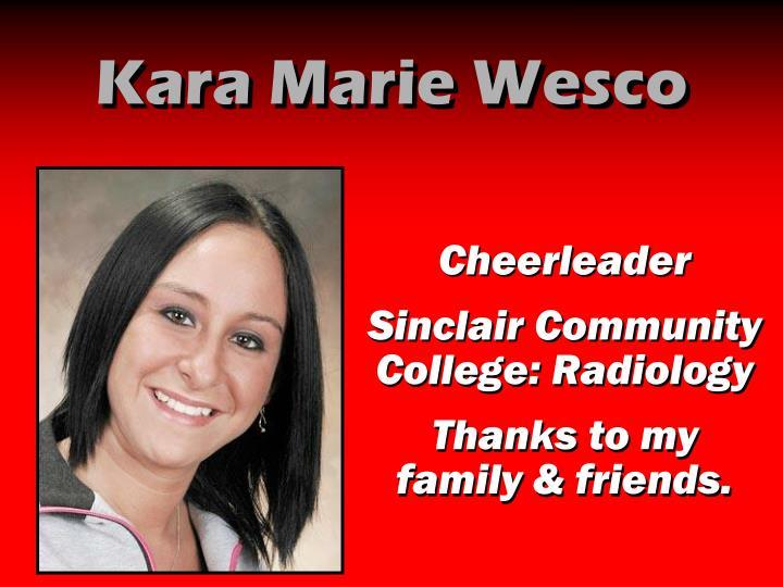 Kara Marie Wesco
