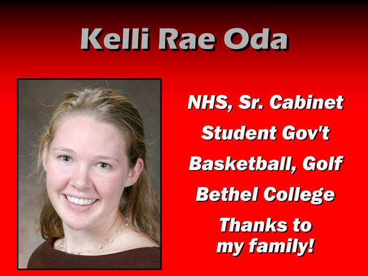 Kelli Rae Oda