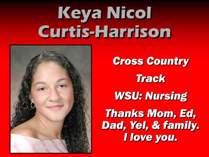Keya Nicol