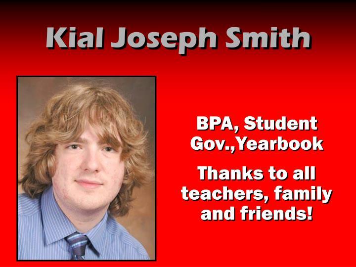 Kial Joseph Smith