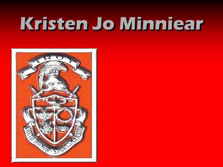Kristen Jo Minniear