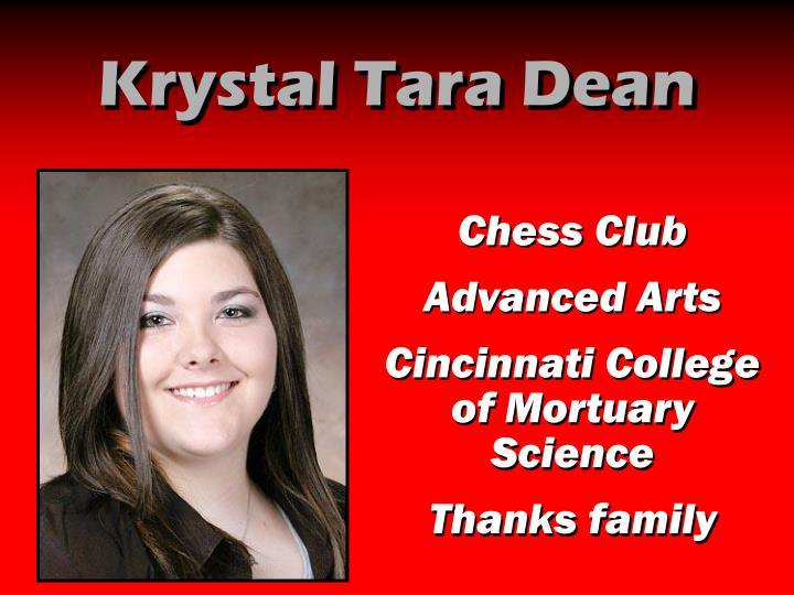Krystal Tara Dean