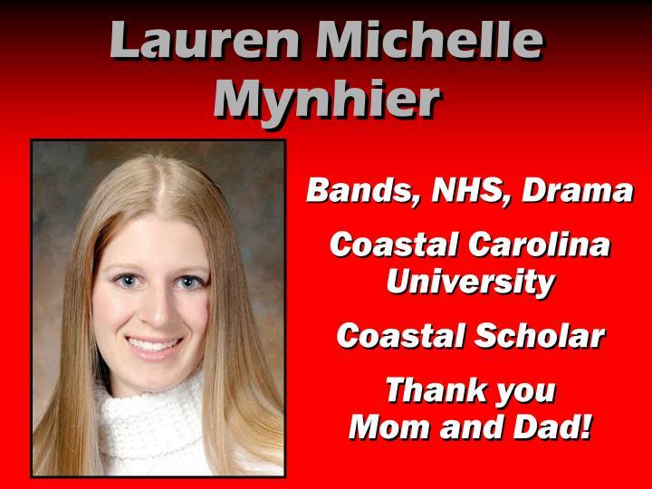 Lauren Michelle Mynhier