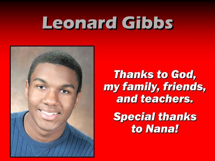 Leonard Gibbs
