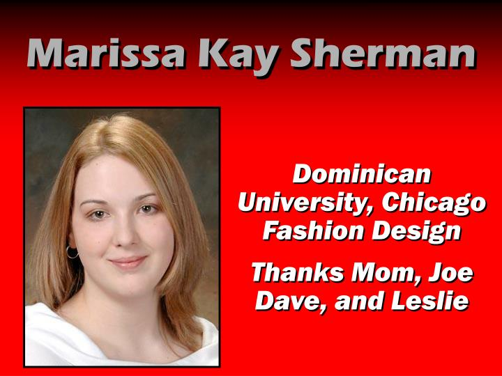 Marissa Kay Sherman