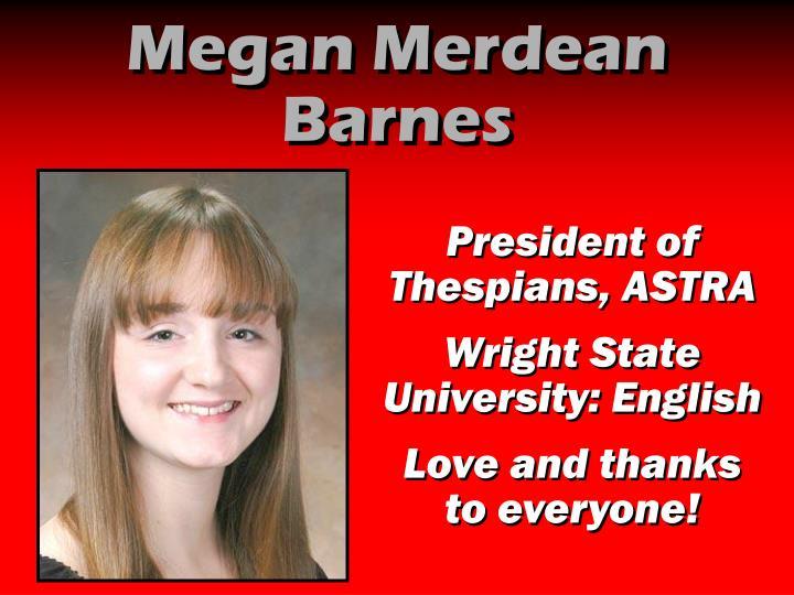 Megan Merdean Barnes