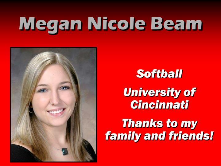 Megan Nicole Beam