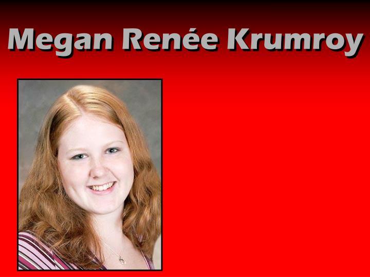 Megan Renée Krumroy