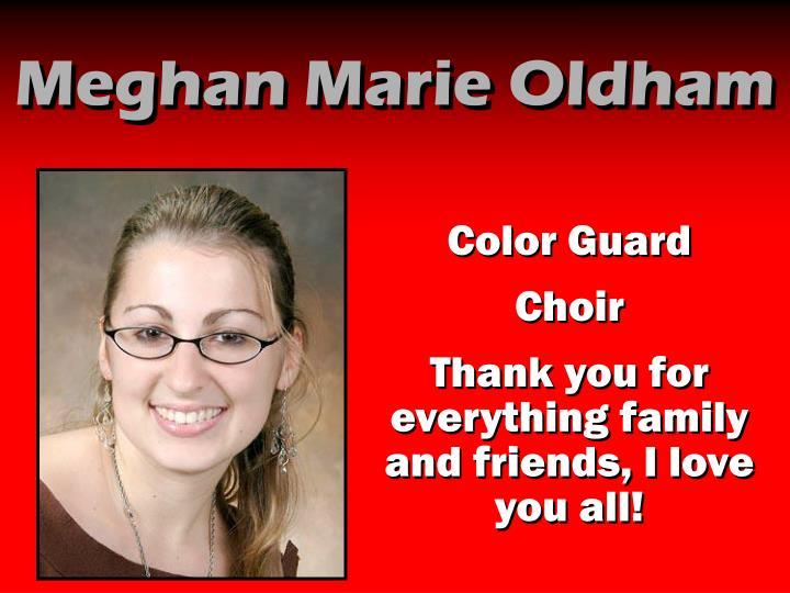 Meghan Marie Oldham