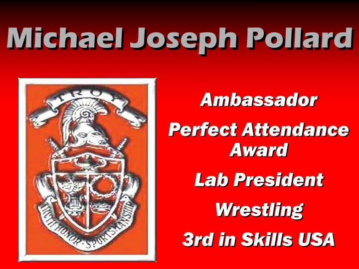 Michael Joseph Pollard