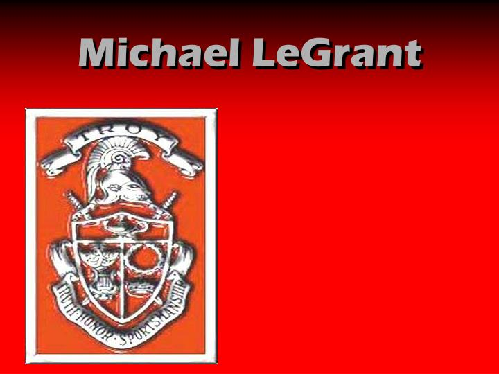 Michael LeGrant