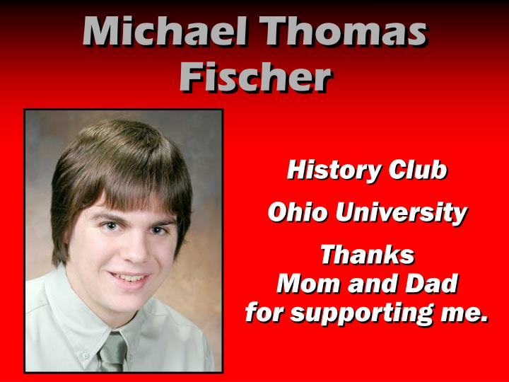 Michael Thomas Fischer