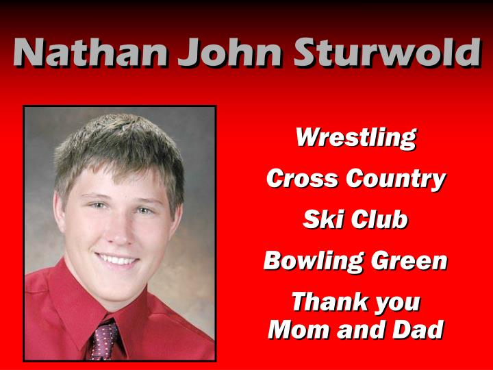 Nathan John Sturwold