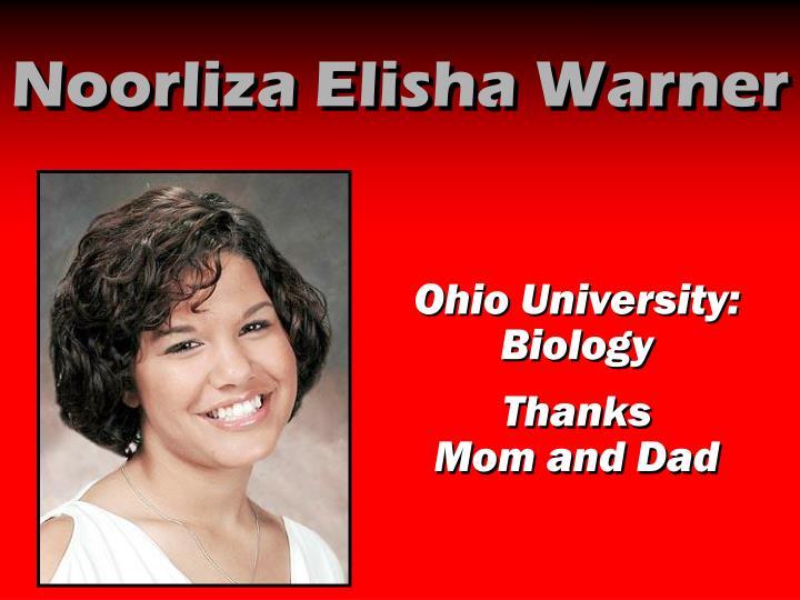 Noorliza Elisha Warner