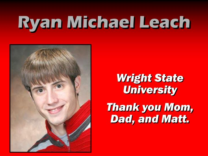 Ryan Michael Leach