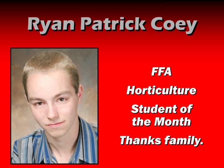 Ryan Patrick Coey