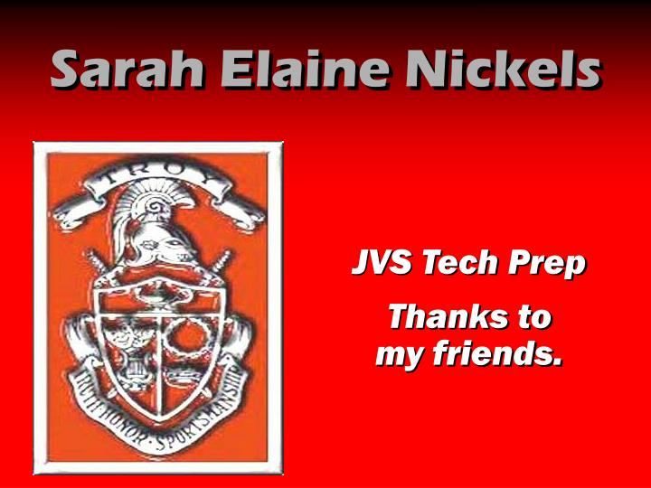 Sarah Elaine Nickels