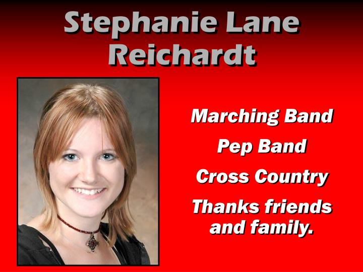 Stephanie Lane Reichardt