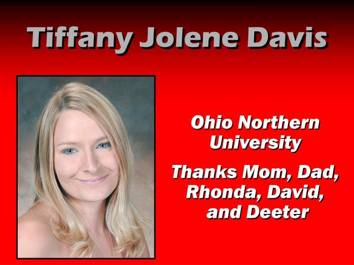 Tiffany Jolene Davis