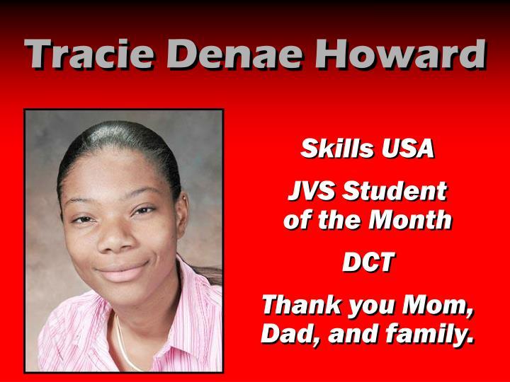 Tracie Denae Howard