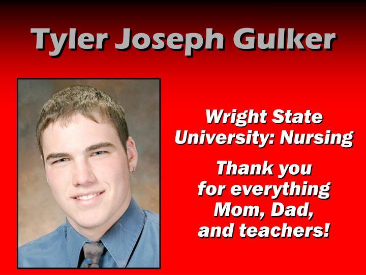 Tyler Joseph Gulker
