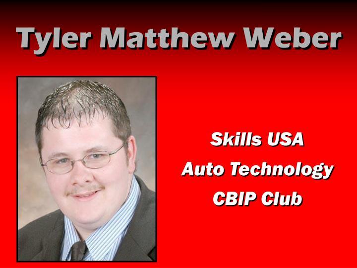 Tyler Matthew Weber