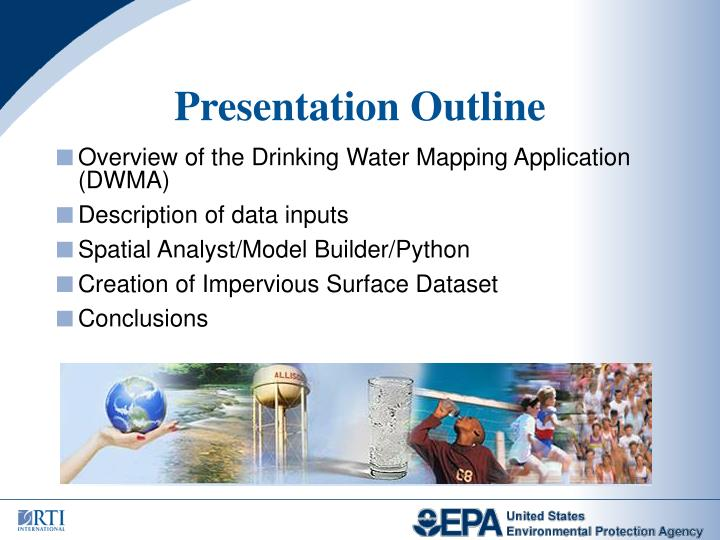 Overview of the Drinking Water Mapping Application (DWMA)
