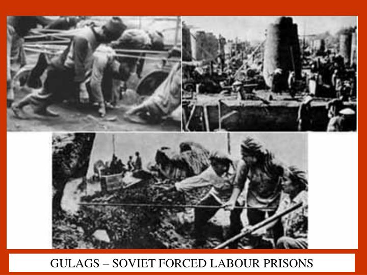 GULAGS – SOVIET FORCED LABOUR PRISONS