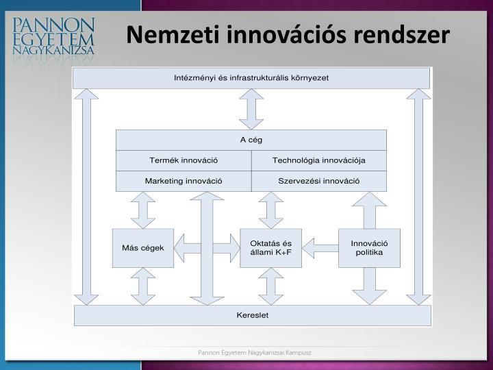 Nemzeti innovációs rendszer