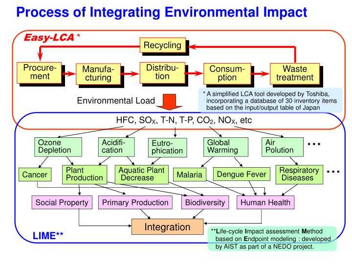 Process of Integrating Environmental Impact
