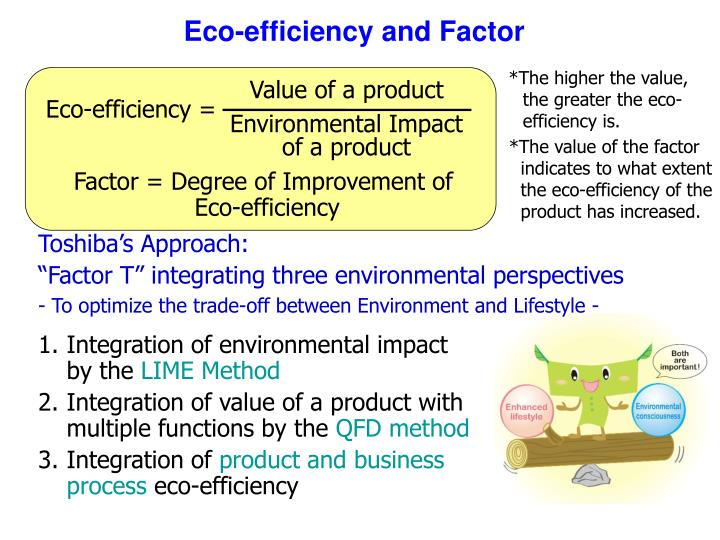 Eco-efficiency and Factor