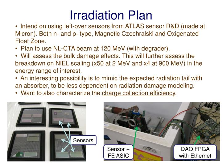 Irradiation Plan